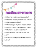 ANCHOR CHARTS for Launching Reading Workshop