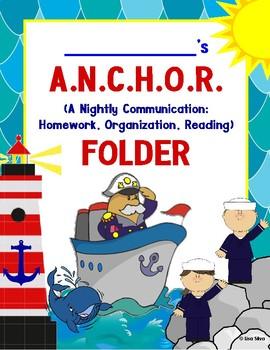 ANCHOR COMMUNICATION FOLDER