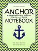 ANCHOR FOLDER cover Daily folder cover, Nautical Theme Lime and Navy
