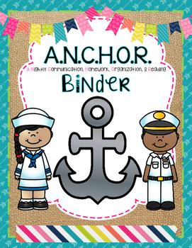 ANCHOR Folder or Binder
