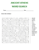 ANCIENT ATHENS WORD SEARCH