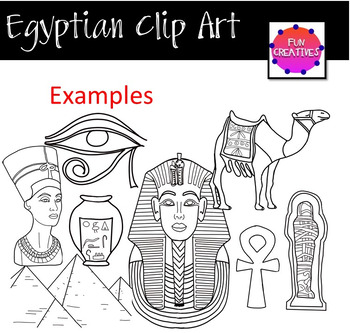 ANCIENT EGYPTIAN CLIP ART