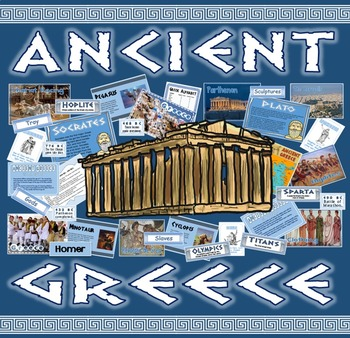 ANCIENT GREECE - GREEKS - HISTORY KEY STAGE 2 ATHENS SPART