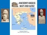 ANCIENT GREECE MAP AND MAP QUIZ