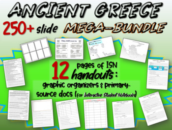 ANCIENT GREECE MEGA-BUNDLE: 25 unique resources to teach for weeks on the Greeks
