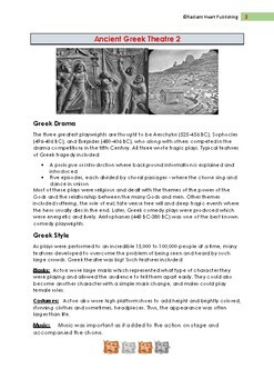 ANCIENT GREEK THEATRE READING AND ASSESSMENT