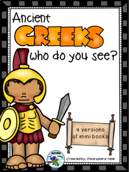 ANCIENT GREEKS WHO DO YOU SEE?