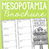 ANCIENT MESOPOTAMIA Research Brochure Template, World Hist
