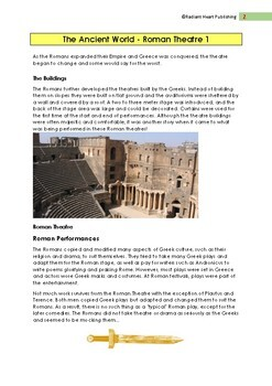 ANCIENT ROMAN THEATRE READING AND ASSESSMENT TASK