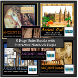 ANCIENT CIVILIZATION UNITS BUNDLE: Rome, Greece, Egypt, Ma
