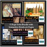 ANCIENT CIVILIZATION UNITS BUNDLE: Rome, Greece, Egypt, Ma