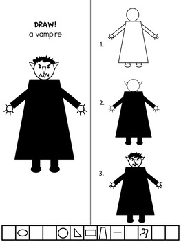 DRAW! A VAMPIRE from beginnerswork.com