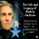 ANDREW JACKSON and his Legacy READINGS and DOODLE NOTES for ELL