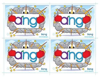 ANG (Bang) Word Buddy Card