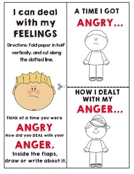 ANGER ACTIVITY FLAP BOOK