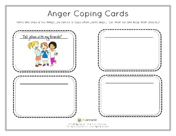 ANGER COPING CARDS