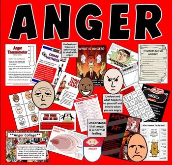 ANGER MANAGEMENT - LESSONS, TEACHING RESOURCES KS2, KS3, K