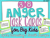 ANGER Task Cards [5th-8th] - Social Skills #warmupwithsped3