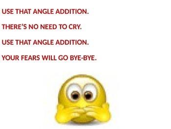 ANGLE ADDITION SONG