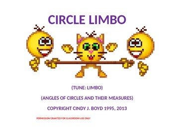 ANGLES OF CIRCLES AND THEIR MEASURES SONG