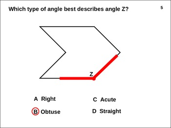 ANGLES STAAR Test: Right Acute Obtuse (animated)