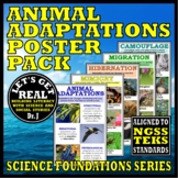 ANIMAL ADAPTATIONS Poster Pack