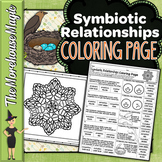 Symbiosis and Symbiotic Relationships Science Color By Num