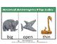 ANIMAL ANTONYMS FLIP-TABS