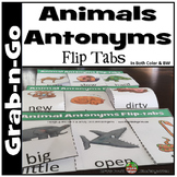 ANIMAL ANTONYMS FLIP-TABS