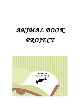 ANIMAL BOOK PROJECT