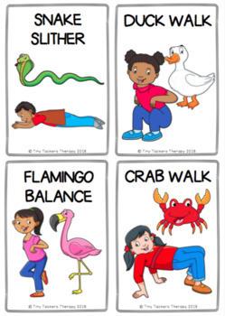 Animal Walks - Brain Breaks, Emotions, Feelings, Self-Regulation, Sensory Break