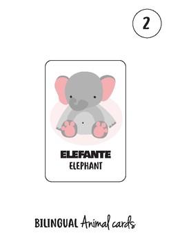 Animal Cards Spanish/English