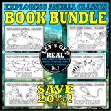 Animal Classes for Grades 1-3: Amazing Animals Book Bundle (Cut-and-Glue Science