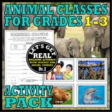 ANIMAL CLASSES FOR GRADES 1-3: ACTIVITY PACK