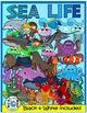 ANIMALS CLIPART BUNDLE: FARM clipart, ZOO Clipart, SEA LIFE animals CLIP ART
