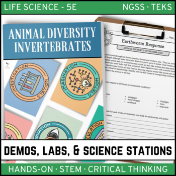 ANIMAL DIVERSITY - INVERTEBRATES - Demos, Labs and Science Stations