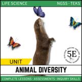 ANIMAL DIVERSITY UNIT - 5E Model