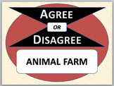 ANIMAL FARM - Agree or Disagree Pre-reading Activity