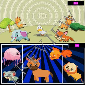 ANIMAL KINGDOM Volume 1 BY COMIC TOONS for TPT Sellers / Teachers