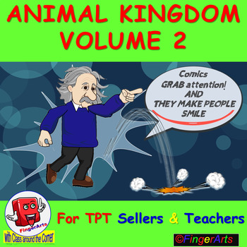 ANIMAL KINGDOM Volume 2 BY COMIC TOONS for TPT Sellers / Teachers