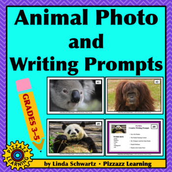 ANIMAL PHOTO AND WRITING PROMPTS