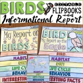 ANIMAL REPORT: BIRDS: INFORMATIONAL REPORTS: RESEARCH TEMPLATES
