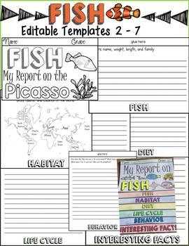 ANIMAL REPORT: FISH: INFORMATIONAL REPORT WRITING