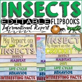 ANIMAL REPORT: INSECTS: INFORMATIONAL REPORTS: RESEARCH TEMPLATES