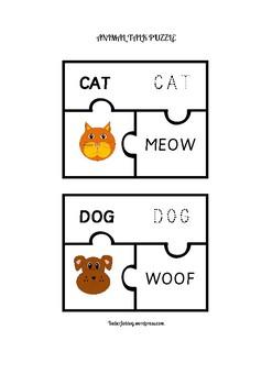 ANIMAL TALK PUZZLE