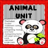 ANIMAL UNIT ACTIVITIES PRINTABLES  Pre-Kinder Kindergarten worksheets