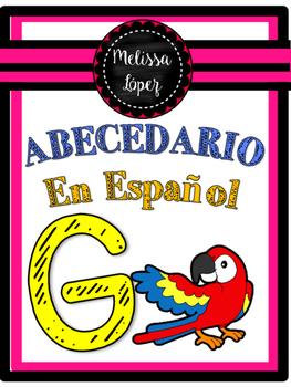 ANIMALS ABC SPANISH