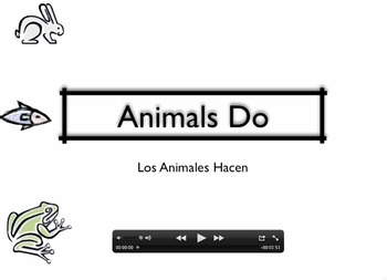 ANIMALS DO MOVIE LESSON TPR