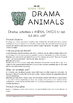 Role Play Cards + Drama Activities (ANIMALS)