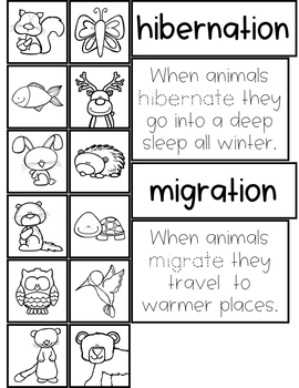 ANIMALS IN WINTER UNIT FOR PRESCHOOL, PRE-K AND KINDERGARTEN